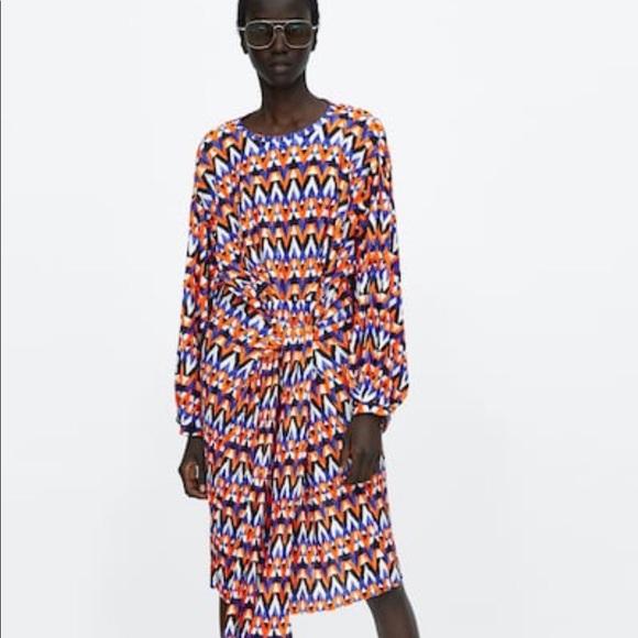 Zara Dresses & Skirts - Zara wrap dress